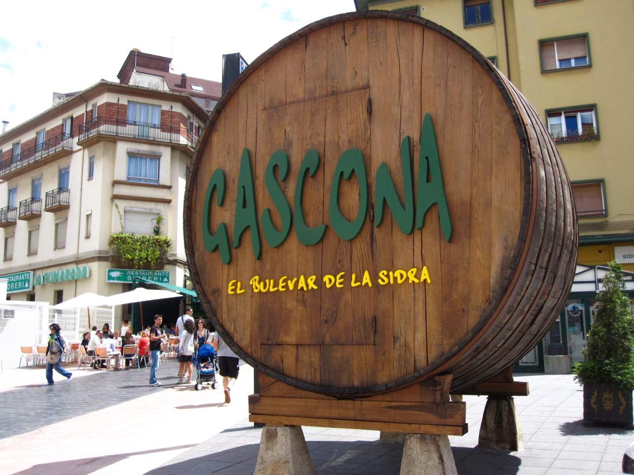 Gascona, El Bulevar de laSidra