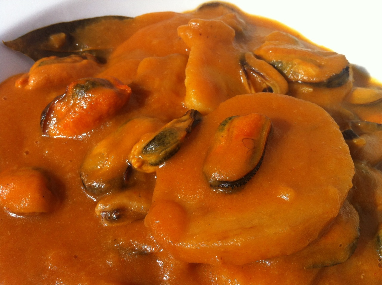 Mejillones en Salsa – Mussels with Hot Sauce