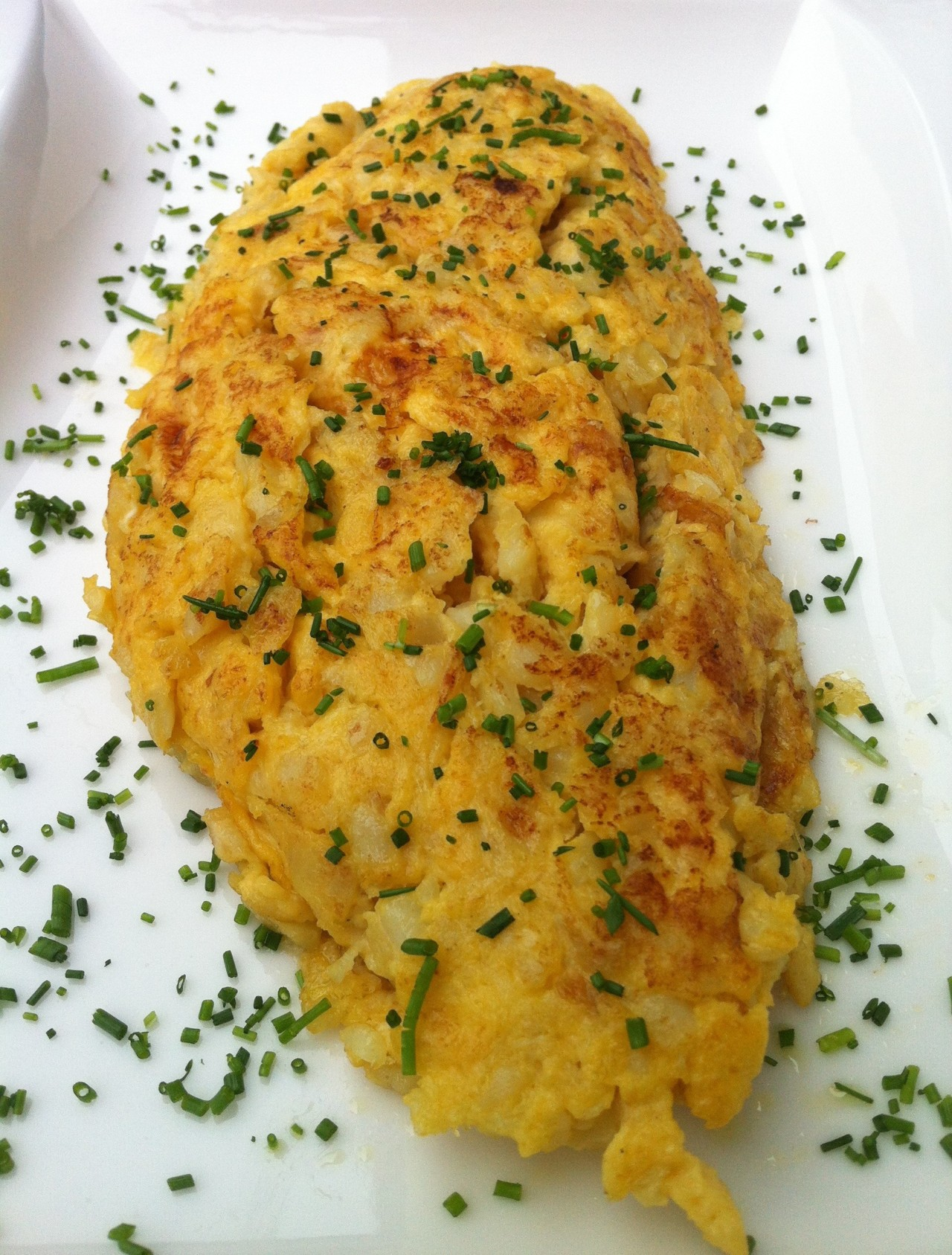 Tortilla y Fritos de Bacalao – Omelet and Battered Cod