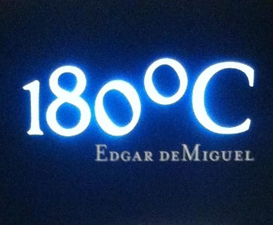 180ºC – Edgar deMiguel