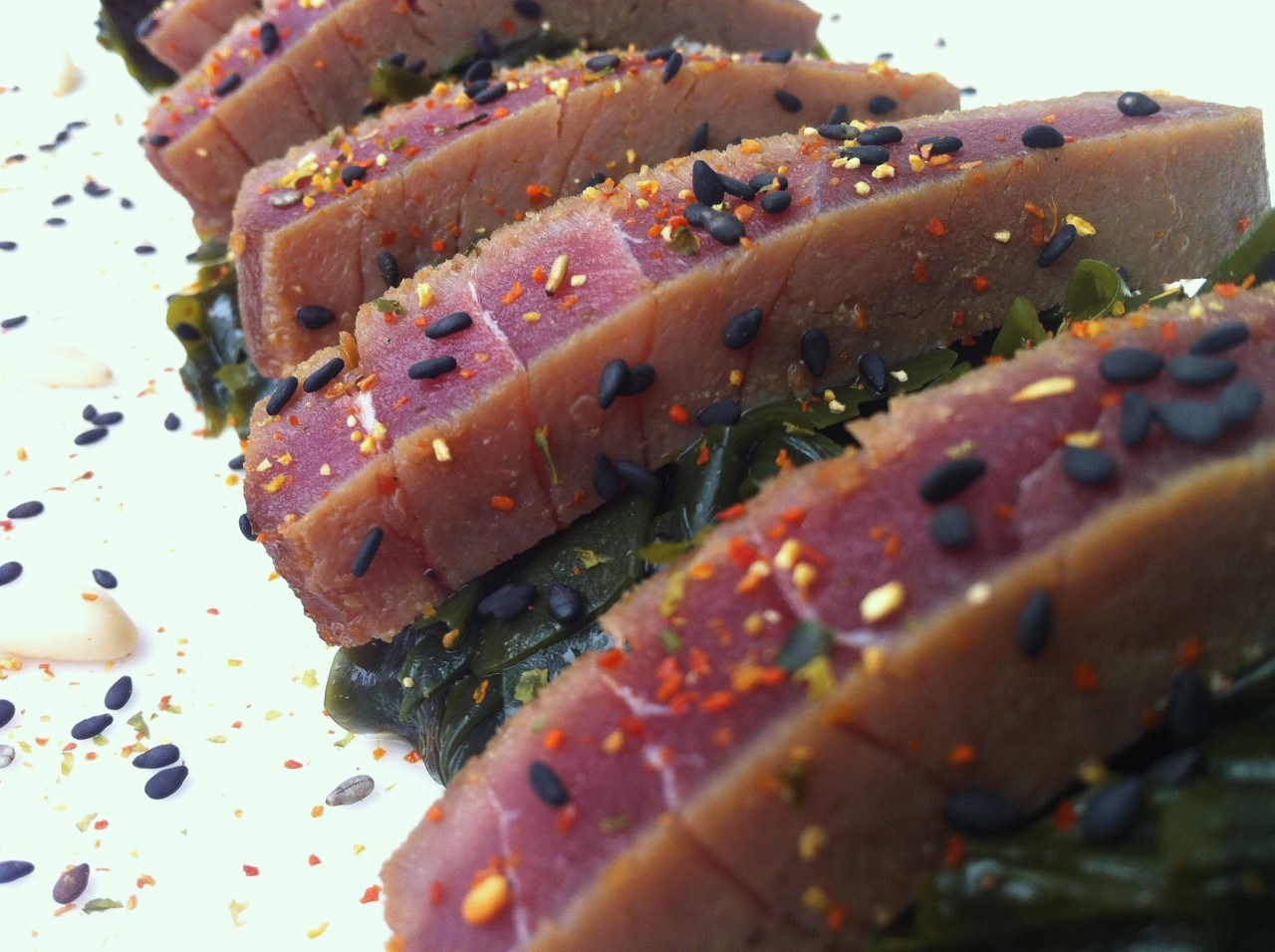 Ensalada de Wakame con Atún Rojo – Wakame Salad with Red Tuna
