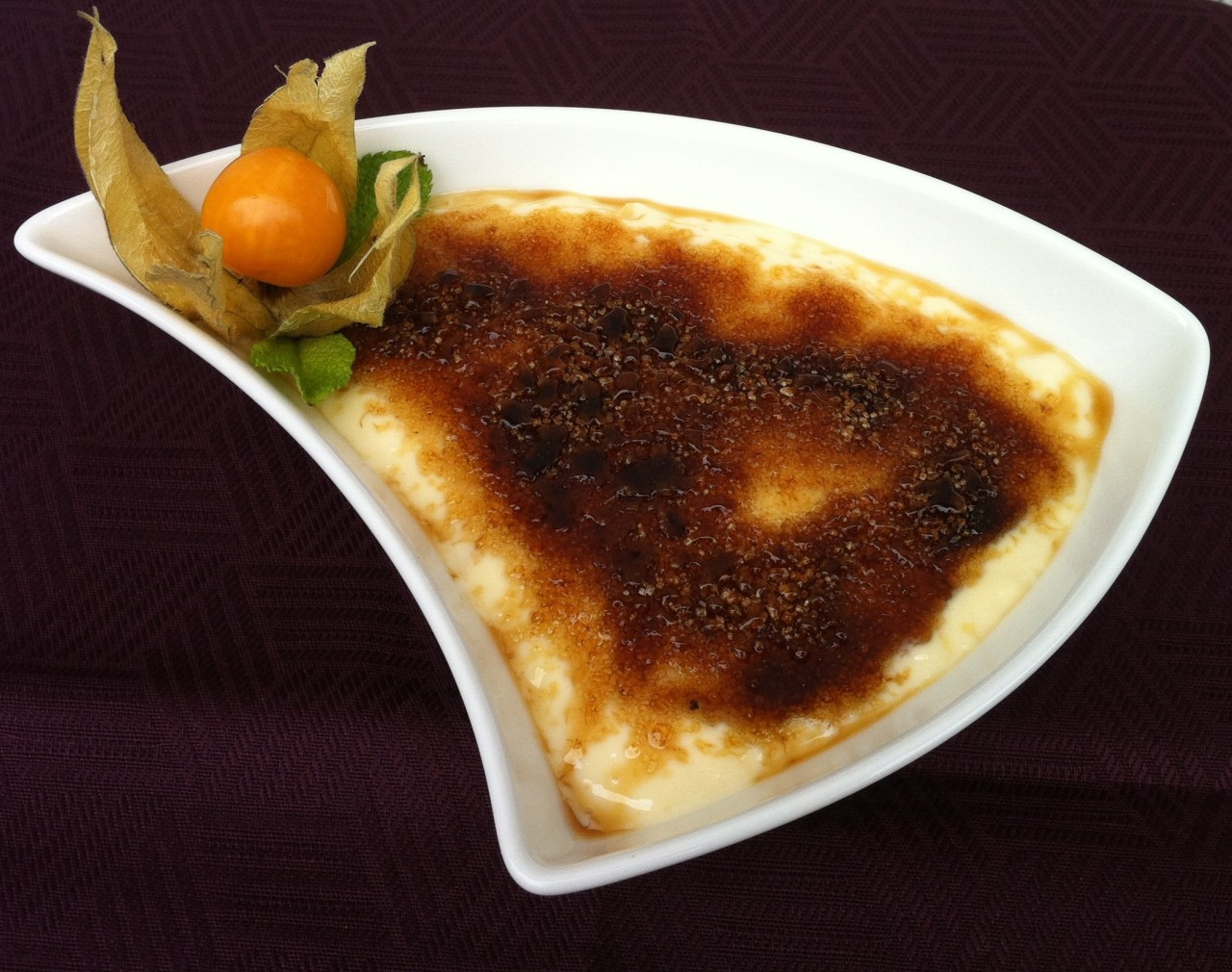 Crema Catalana – Catalonian Burnt Custard