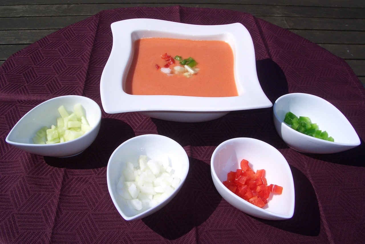 Gazpacho Andaluz – Cold Vegetable Soup