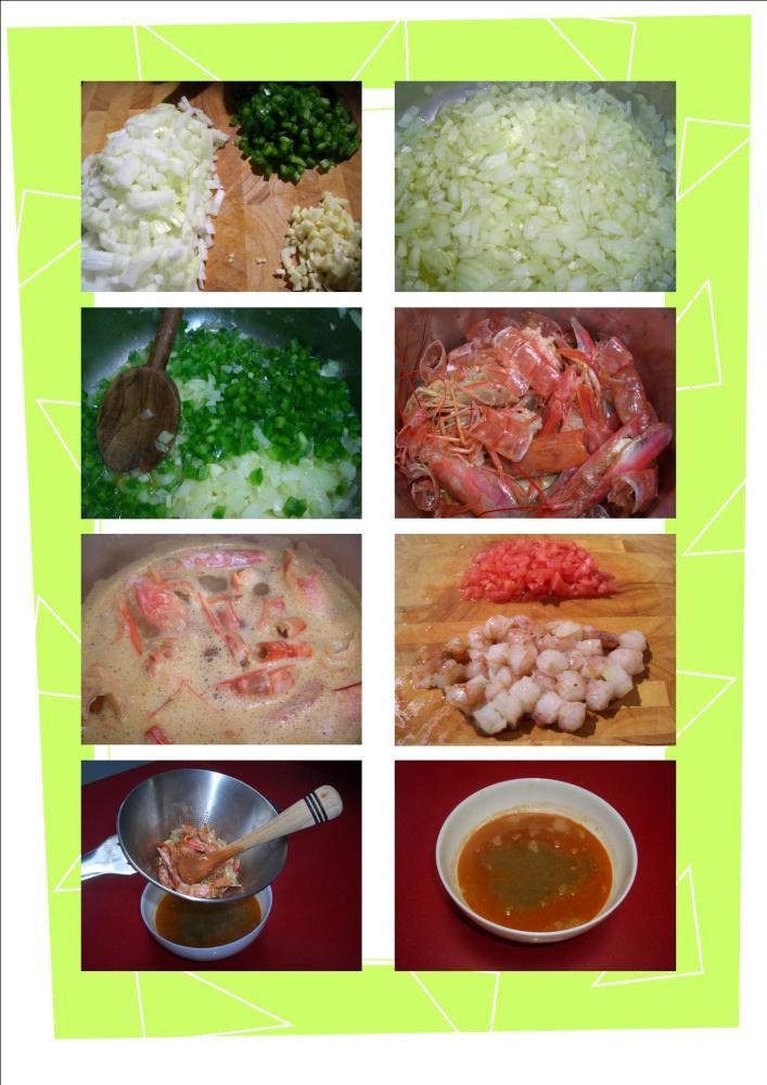 Guiso de Pulpo y Langostinos - Octopus and Prawn Stew (4/6)