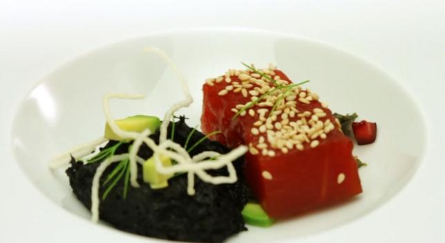 Carpaccio de Sandía - Watermelon Carpaccio (4/6)