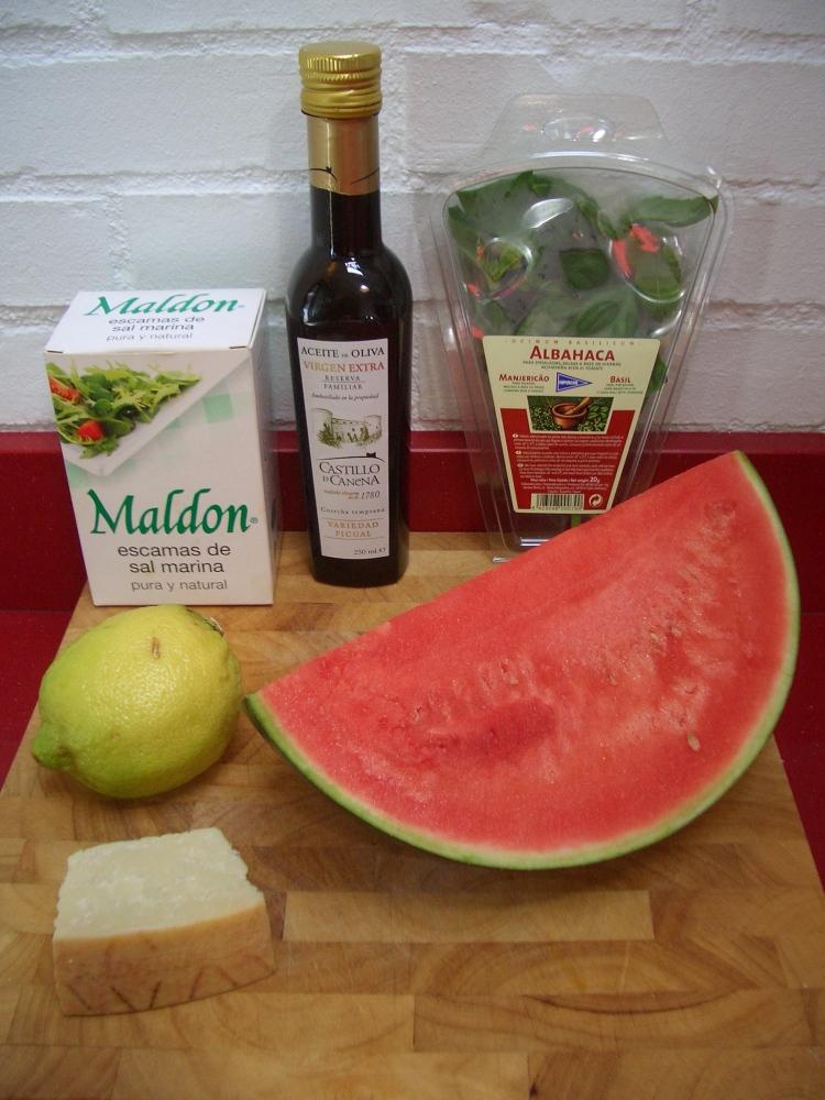 Carpaccio de Sandía - Watermelon Carpaccio (5/6)