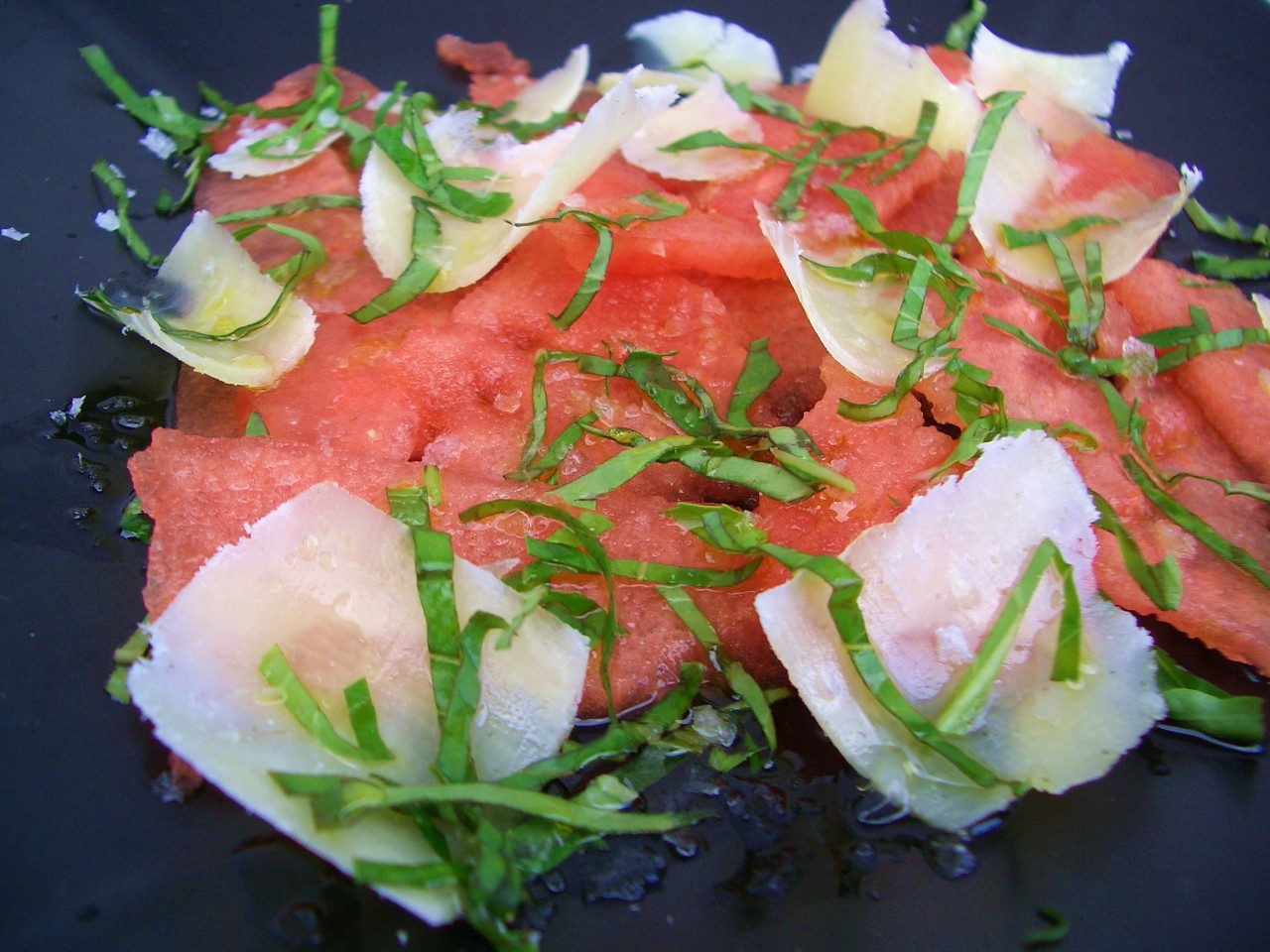 Carpaccio de Sandía – Watermelon Carpaccio