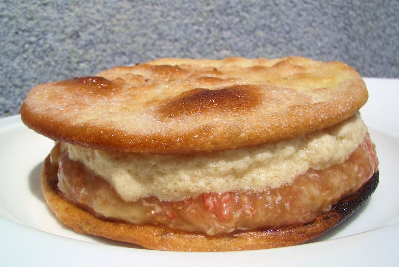 Torta de Brevas con Espuma de Yogur al Café – FigsCake