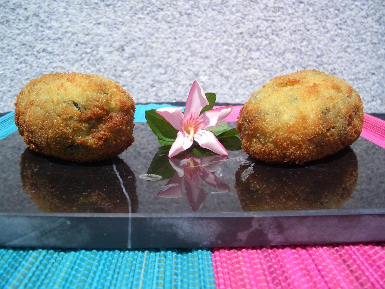 Croquetas de Ñocla y Espinacas – Edible Crab and SpinachCroquettes