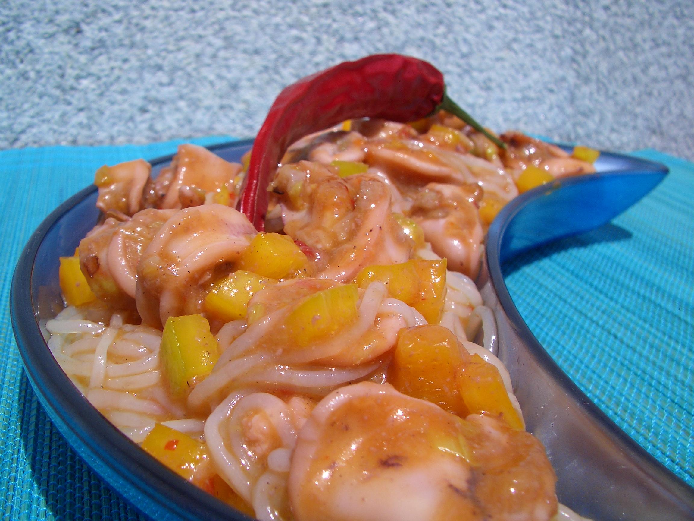 Konjac con chipirones baby squid konjac fuego de mortero for Cocinar konjac