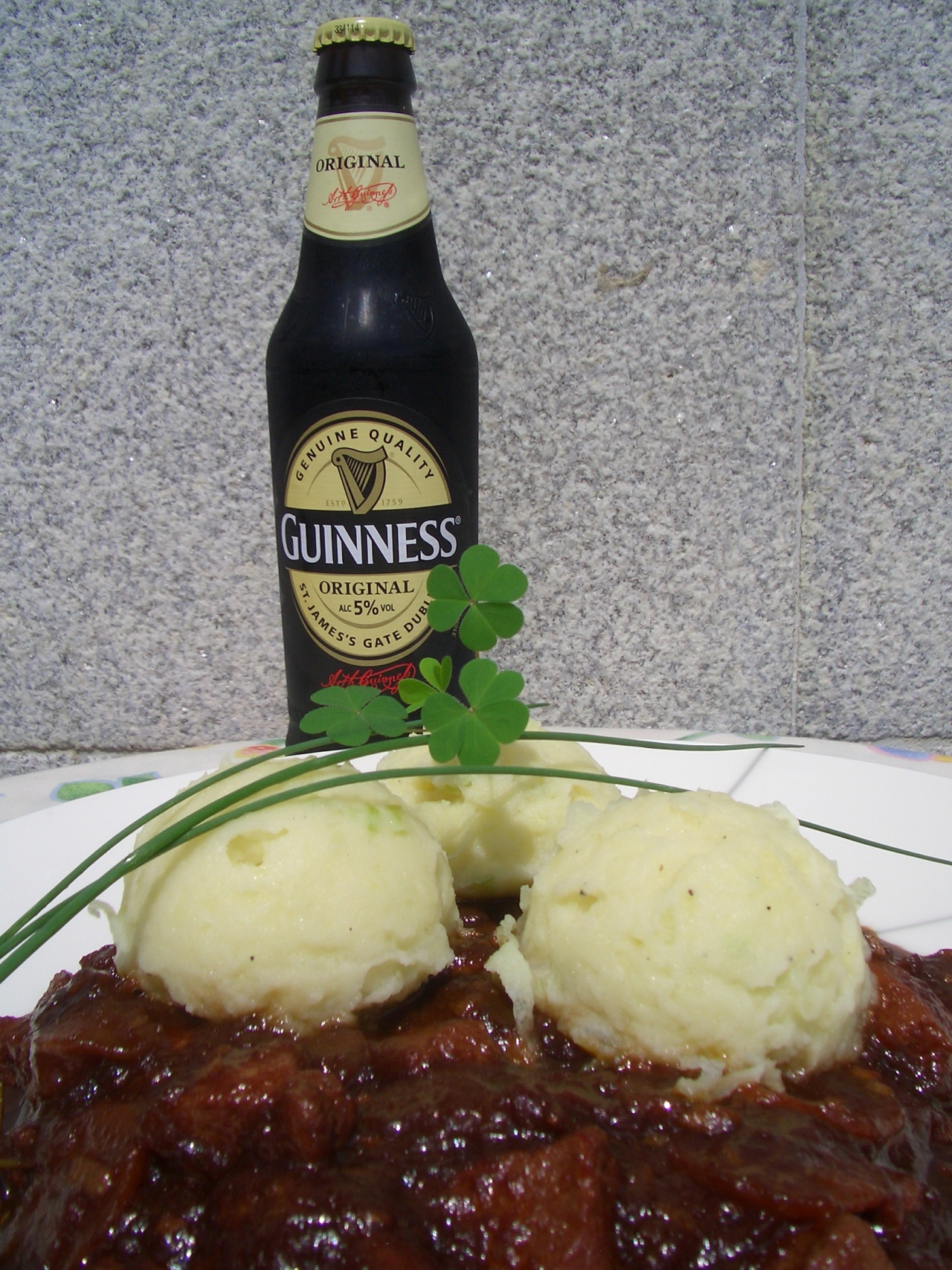 Jabalí Estofado con Cerveza Guinness y Champ – Guinness Wild Boar Stew with Champ