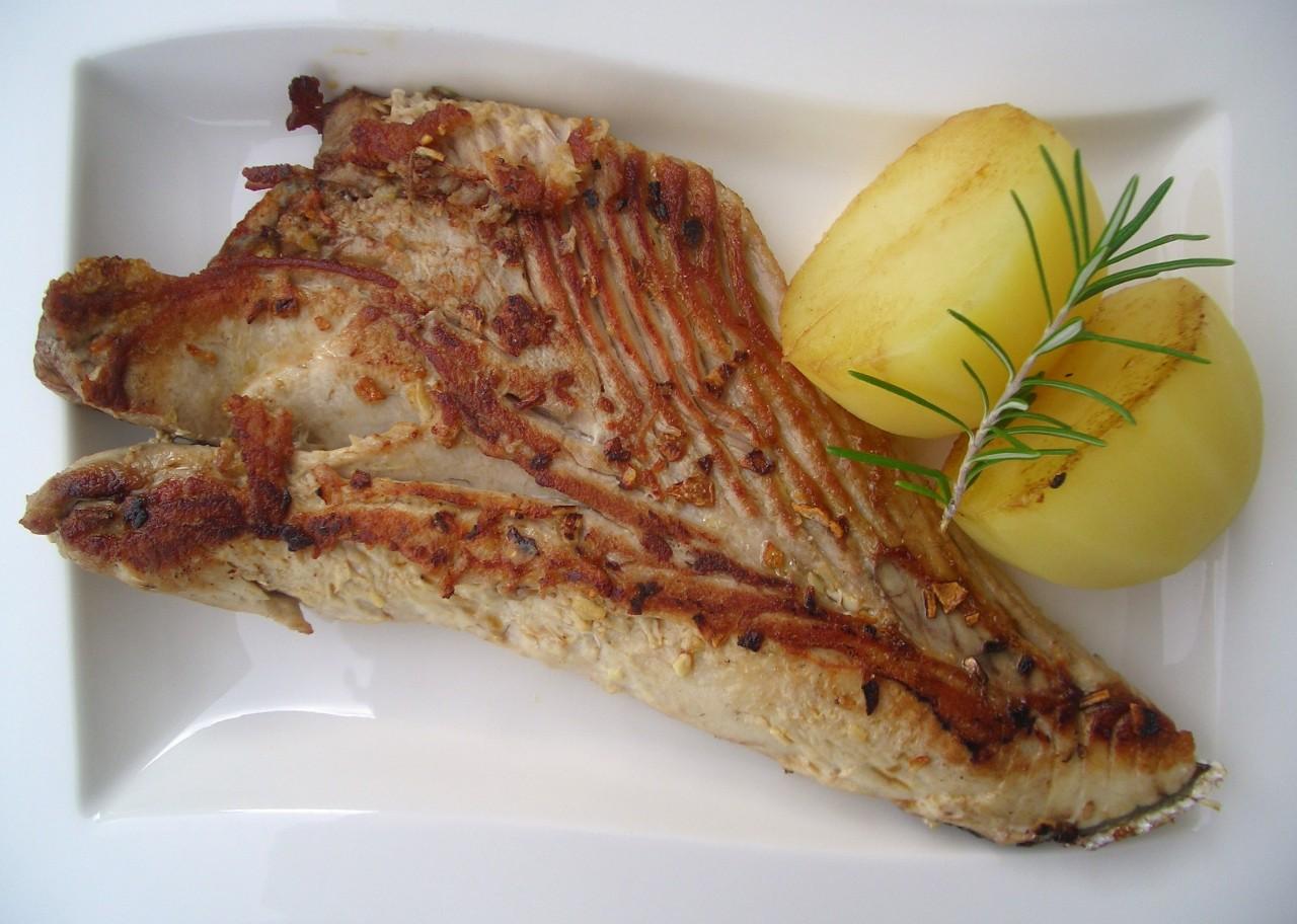 Ventresca de Bonito a la Plancha – Grilled White TunaBelly