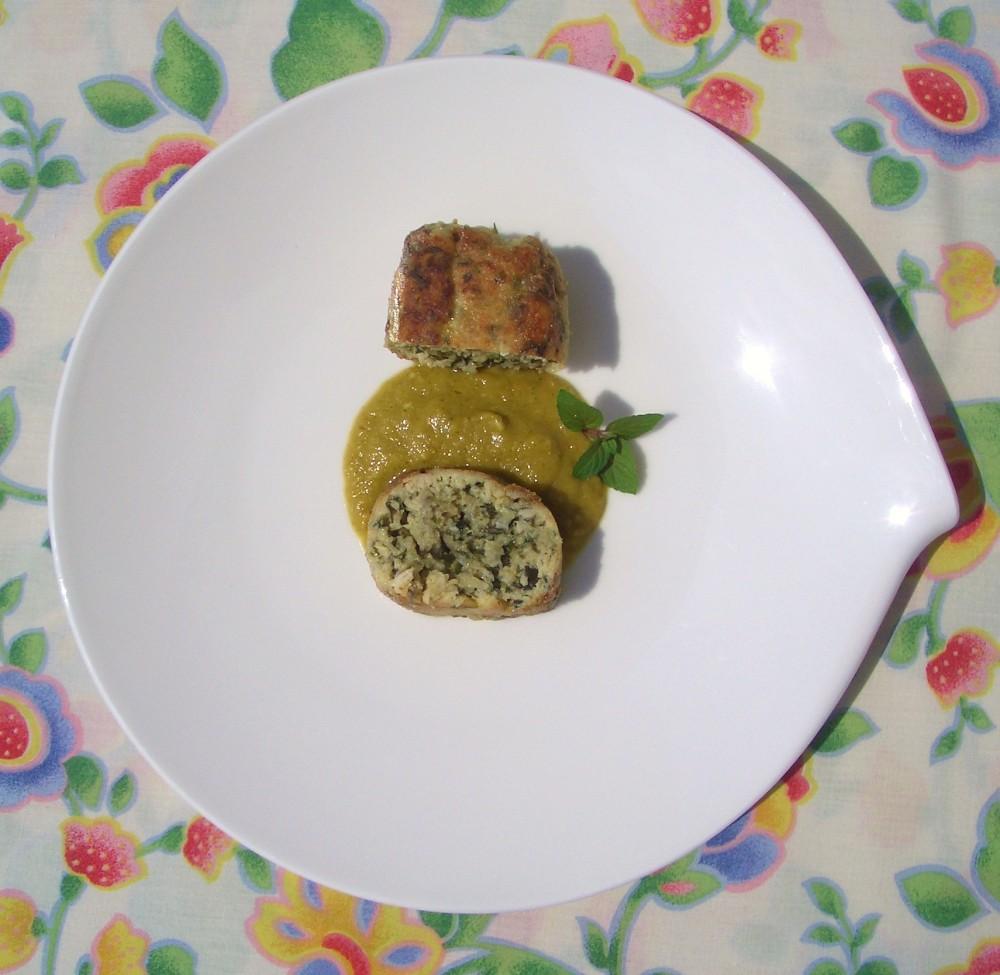 Rollo de Bonito con Wakame y Jengibre - Wakame and Ginger Tuna Roll (4/6)