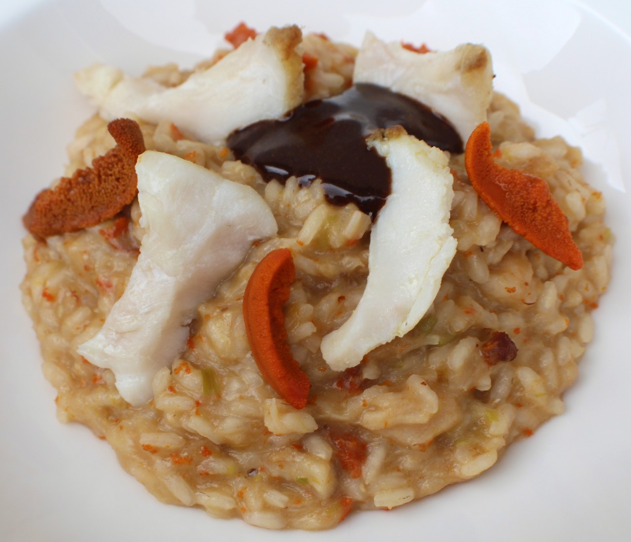 Risotto de Skrei con Oricios – Skrei and Sea Urchin Risotto