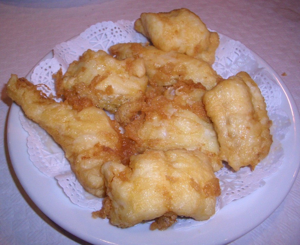 Fritos de merluza