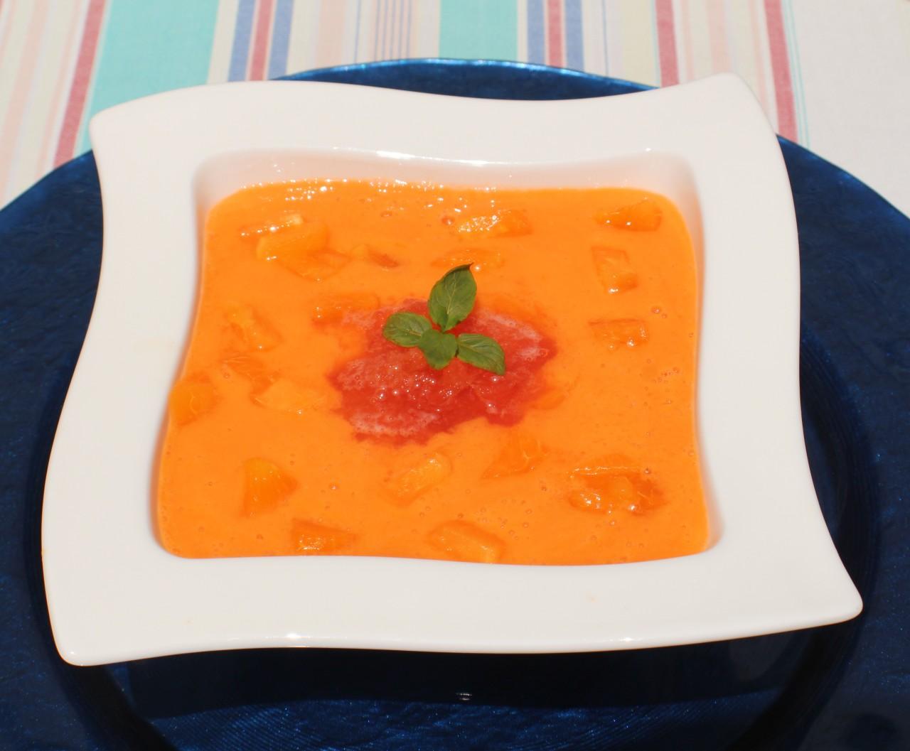 Gazpacho de Albaricoque – Apricot ColdSoup