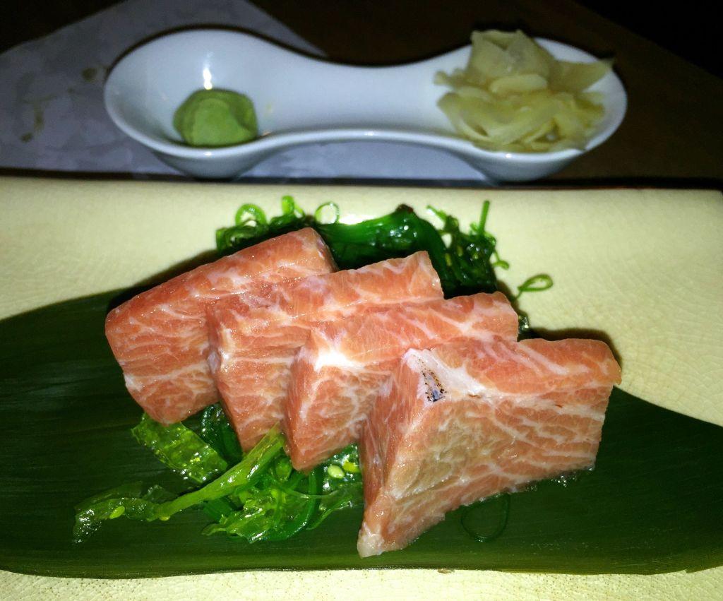 Sashimi de toro (ventresca)