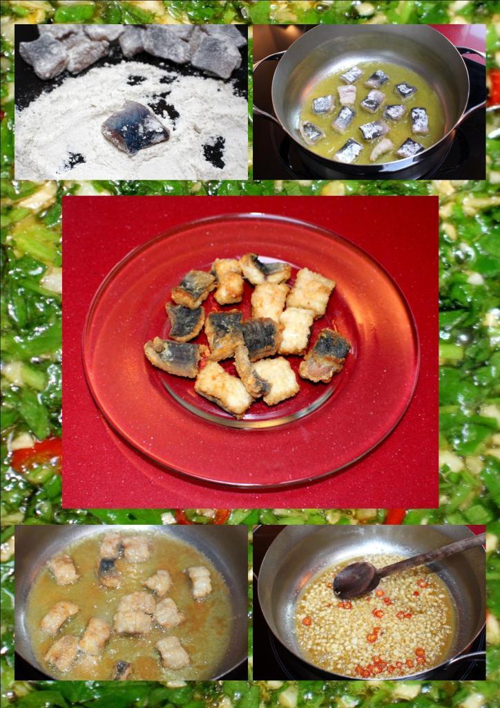 Anguila salsa verde1