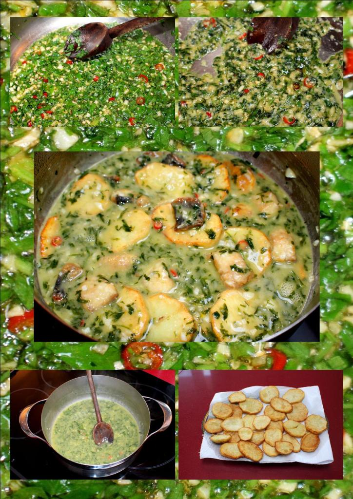Anguila salsa verde2