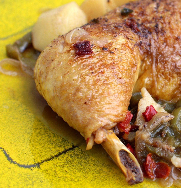 Pollo a laSidra