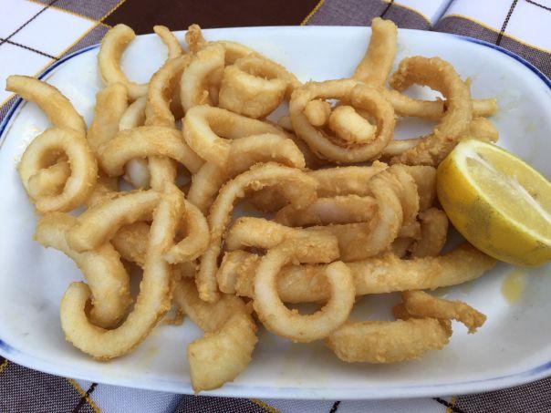 calamares de potera
