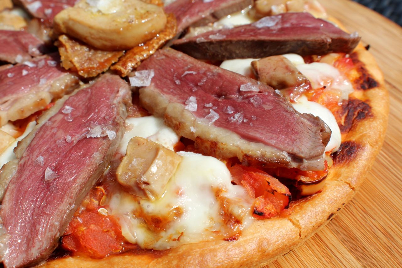 Pizza de Pato – Duck Pizza