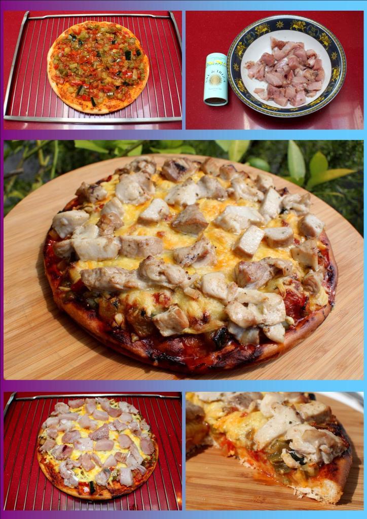 Pizza Pisto y Bonito