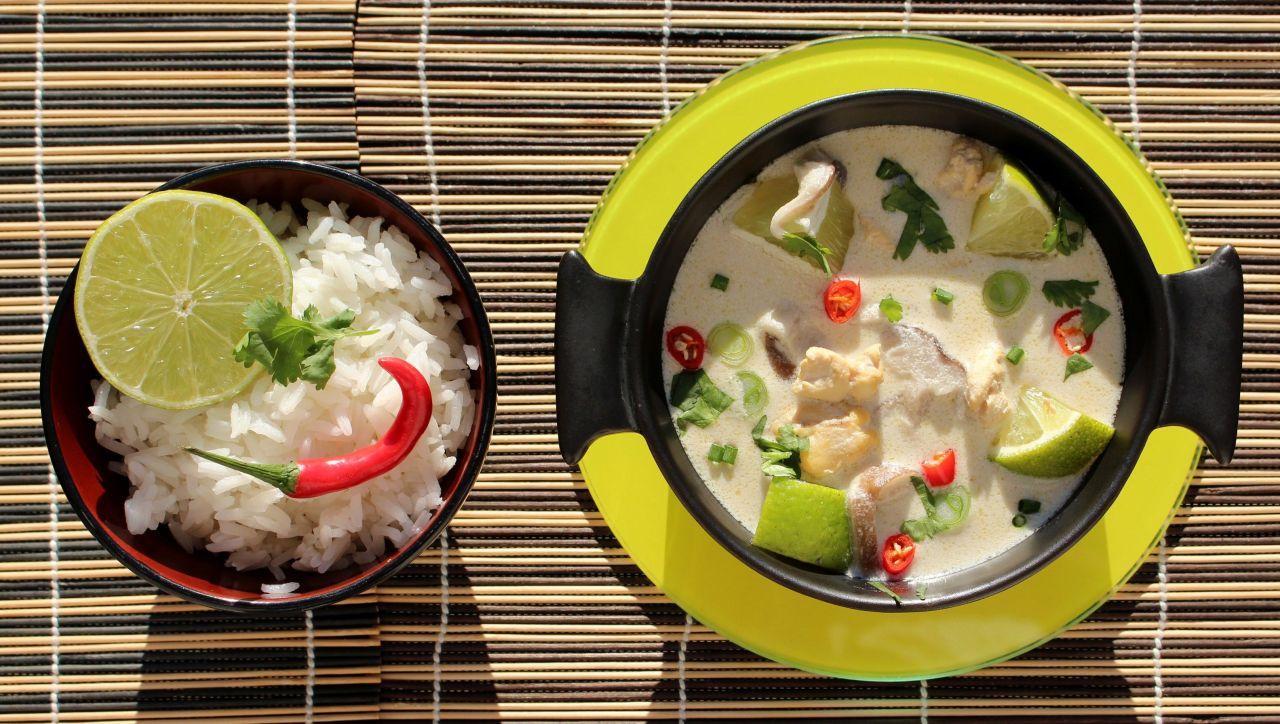 Tom Khing Gai – Sopa de Jengibre yPollo