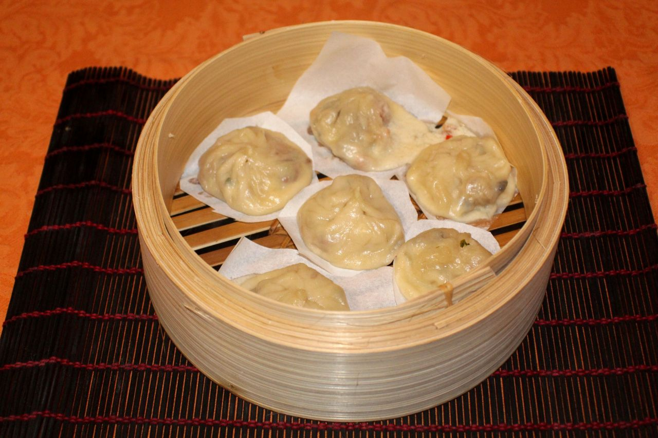 Xiaolongbao de Thai Clam Chowder