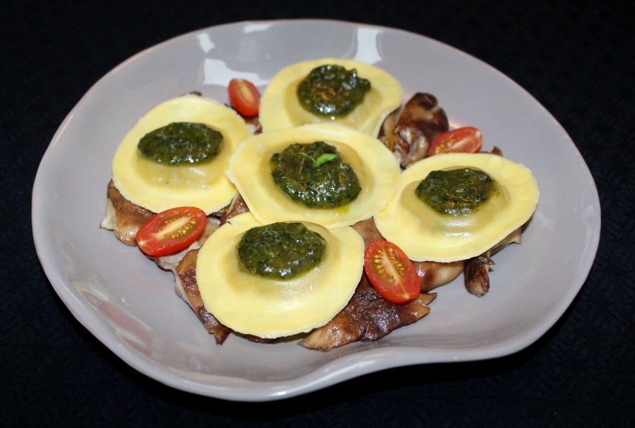 Lunette con Pesto yShiitake