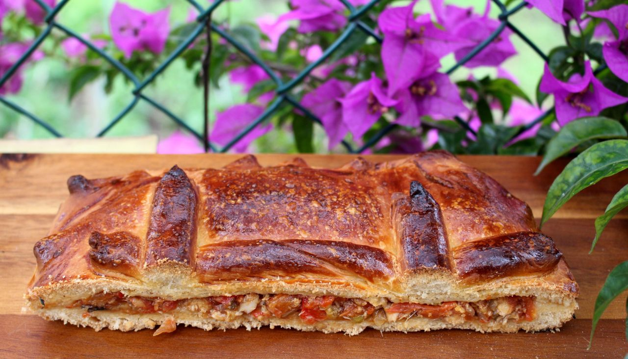 Empanada Gallega de Xoubas(sardinas)