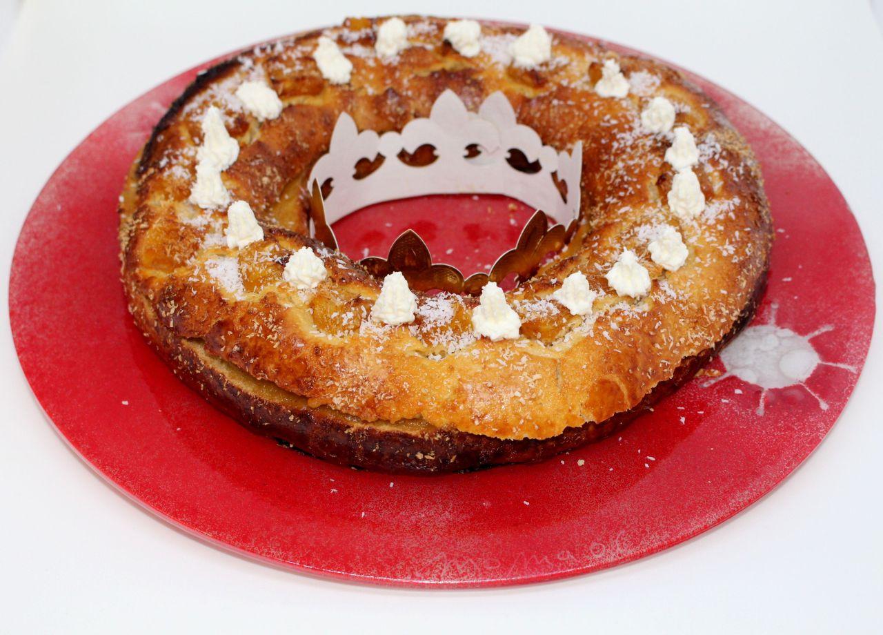 Roscon de Reyes a la PiñaColada