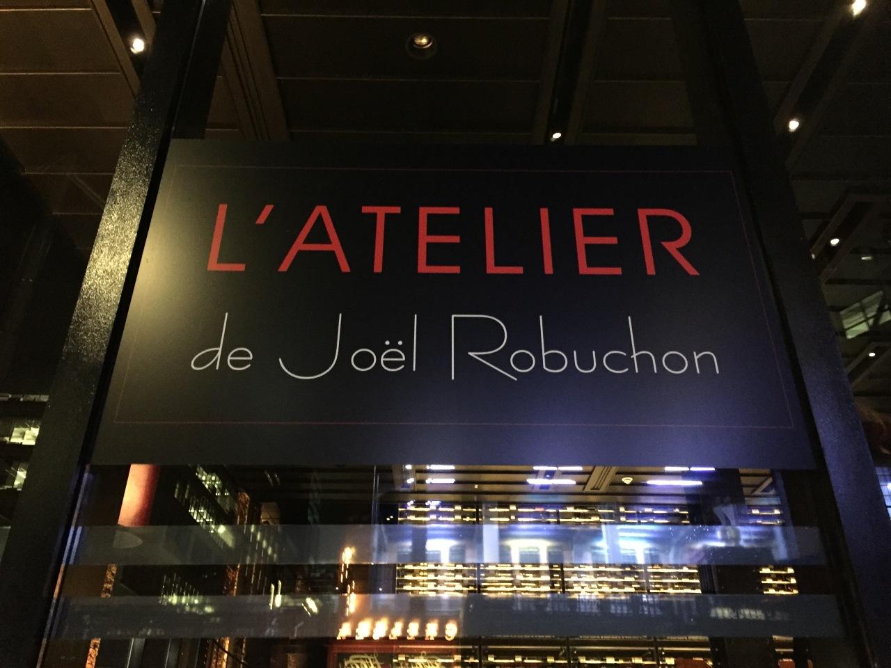 L'Atelier de Jöel Robuchon –NYC