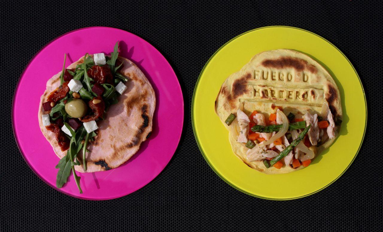 Tacos de Azafrán yRemolacha