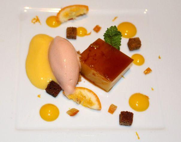 tocinillo, maracuyá, mango y naranja sanguina
