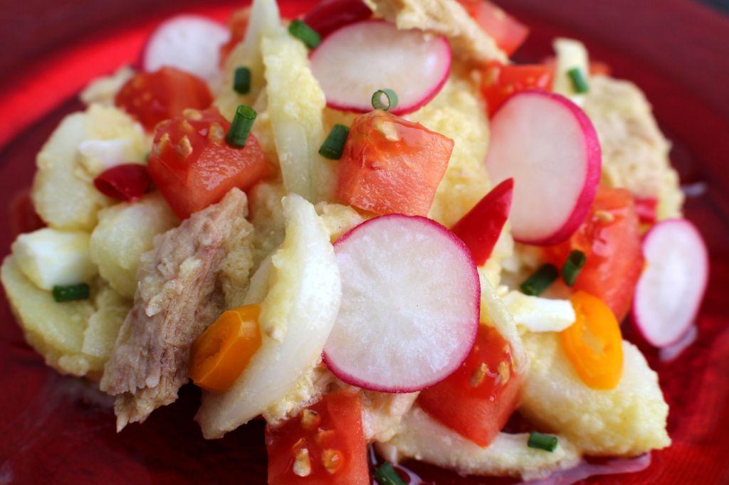 Ensalada de bonito y patata