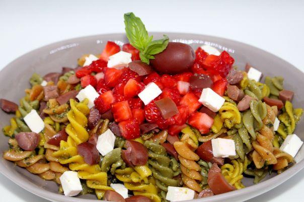 Ensalada de pasta mediterranea