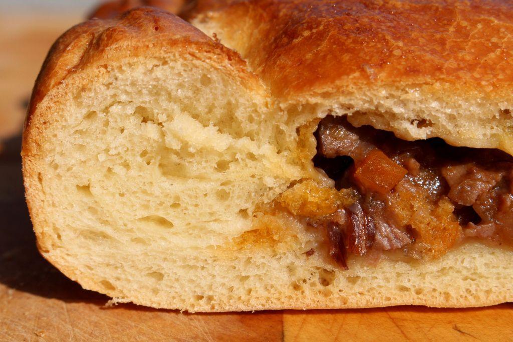Empanada de pato