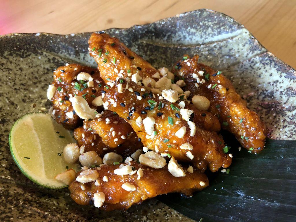Alitas de pollo coreanas