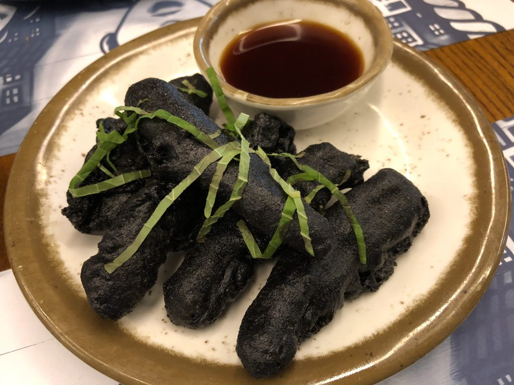 choco en tempura negra