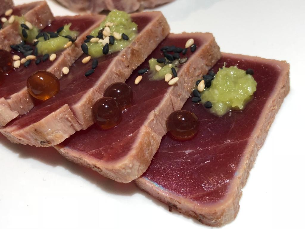 tataki de atun rojo