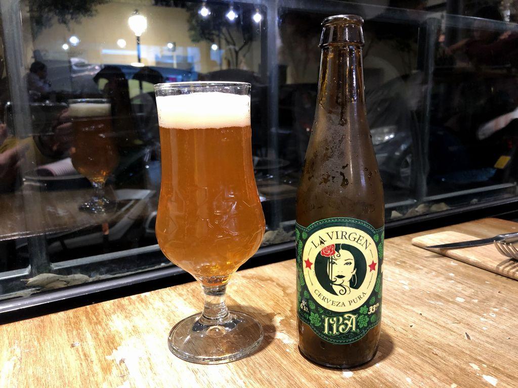 Cerveza La Virgen
