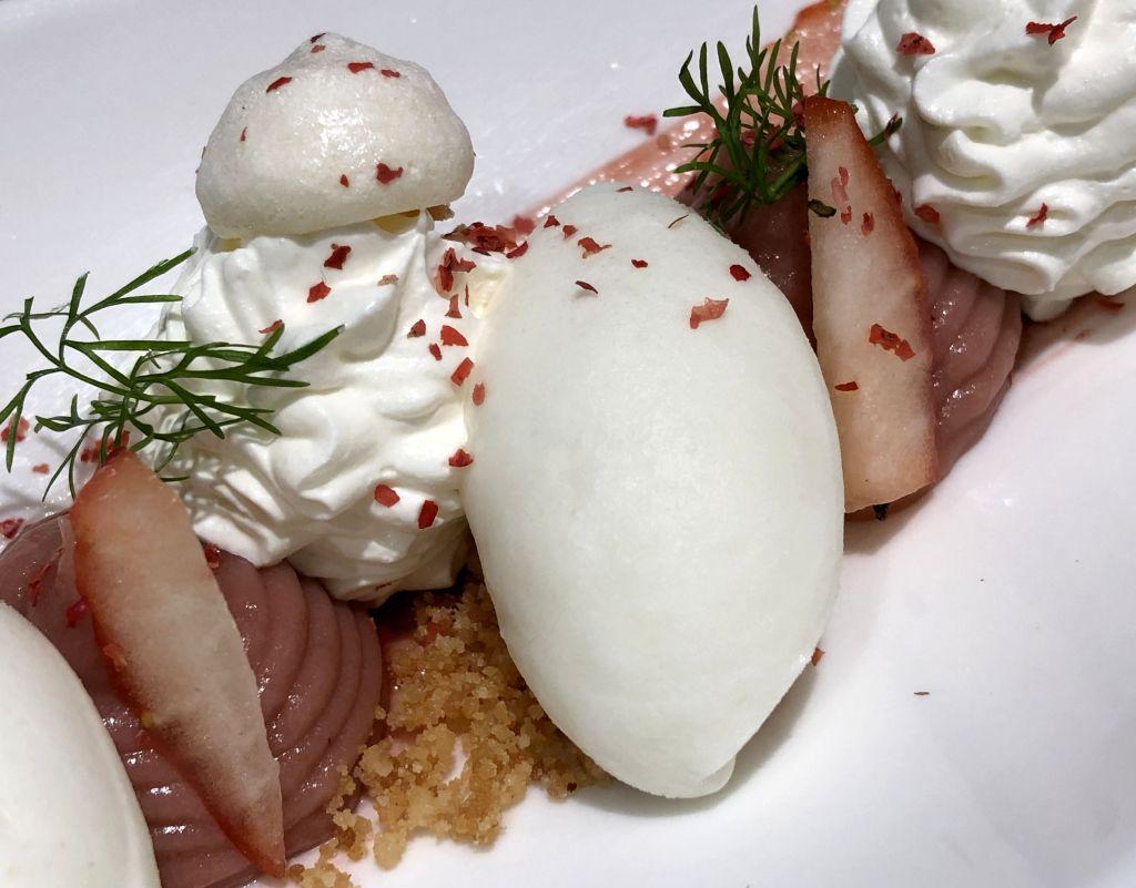 Fresa, merengue y lima