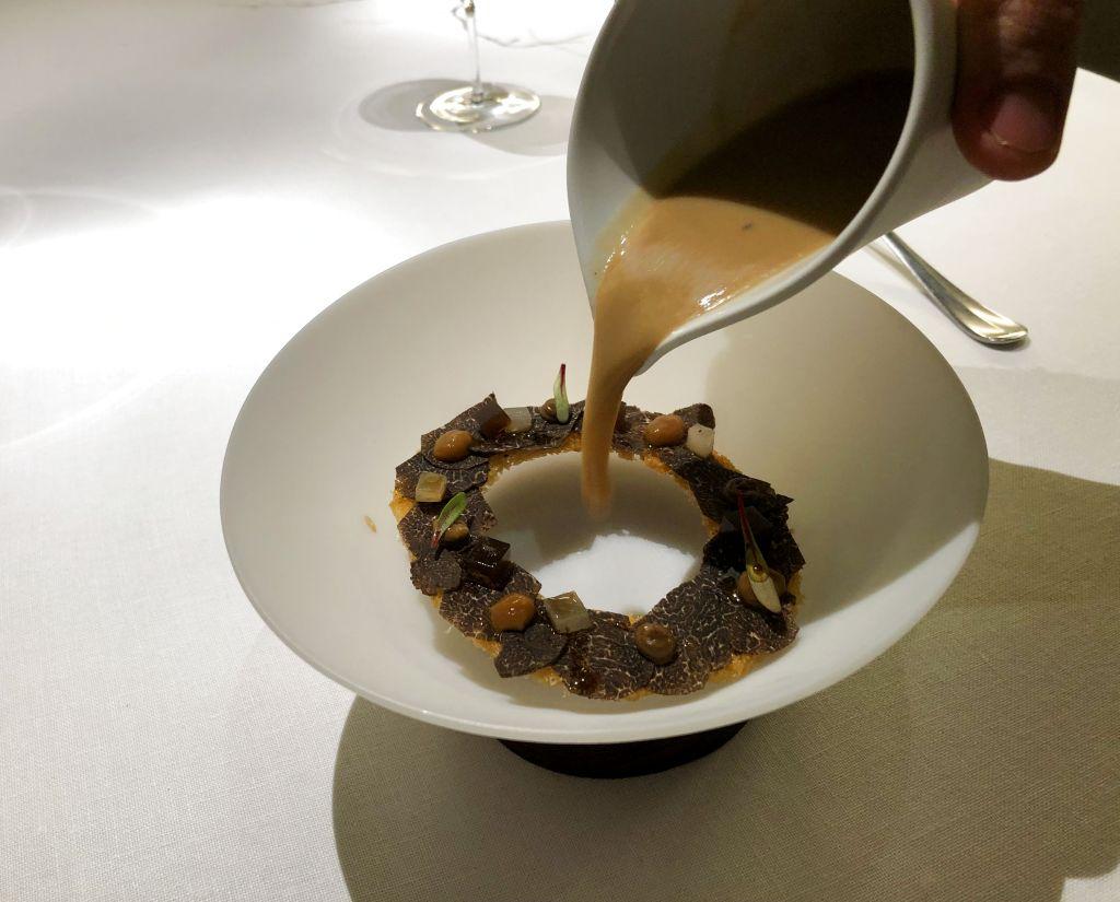 Cebolla de Fuentes con trufa