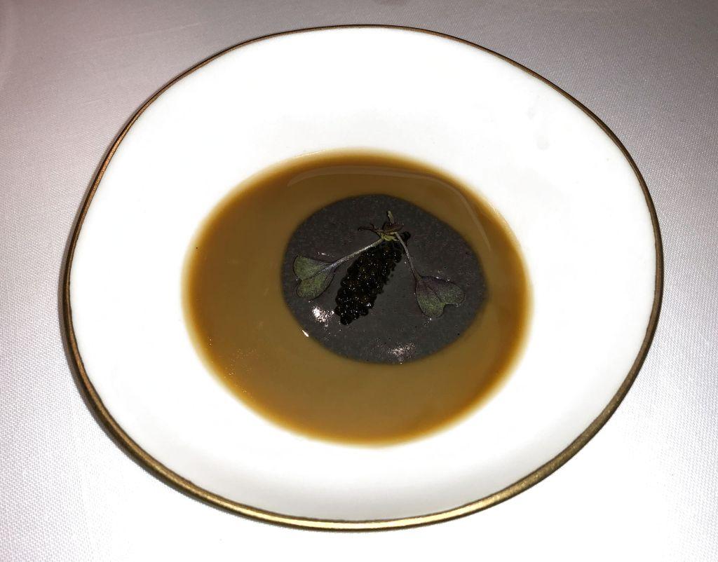 royale de ave con caviar