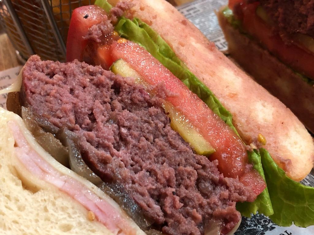 hamburguesa de canguro