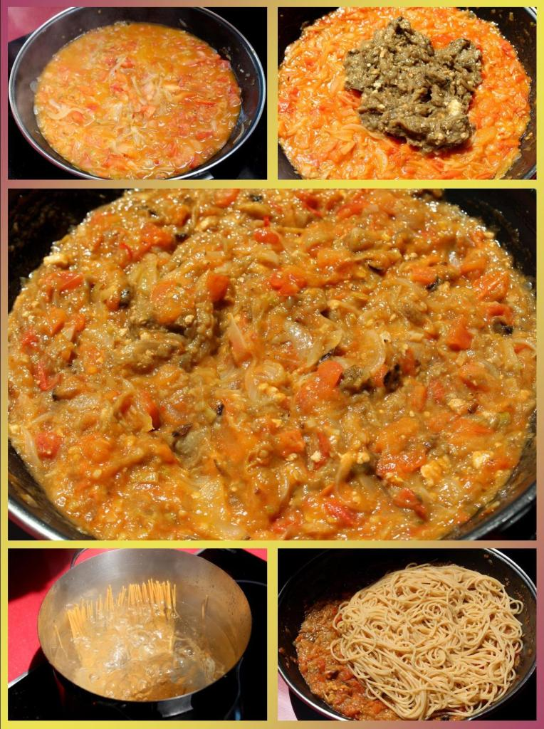 Spaghetti Melazane