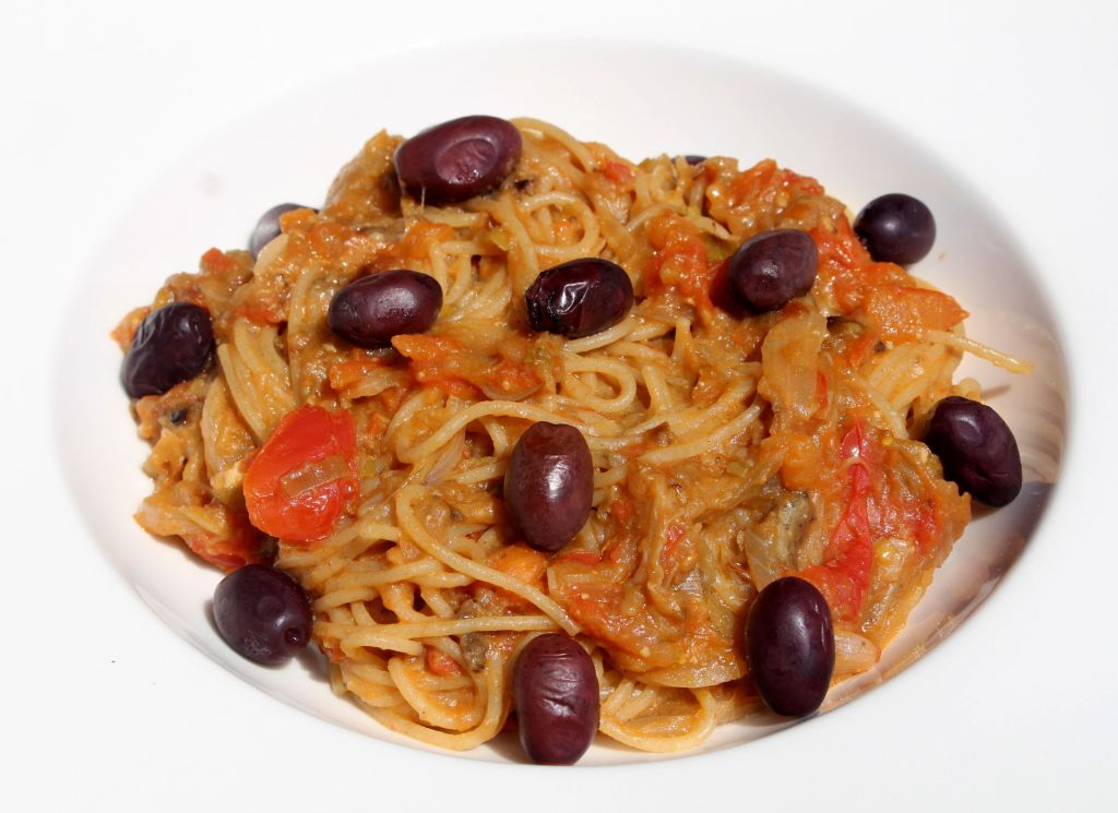 Spaghetti Melanzane
