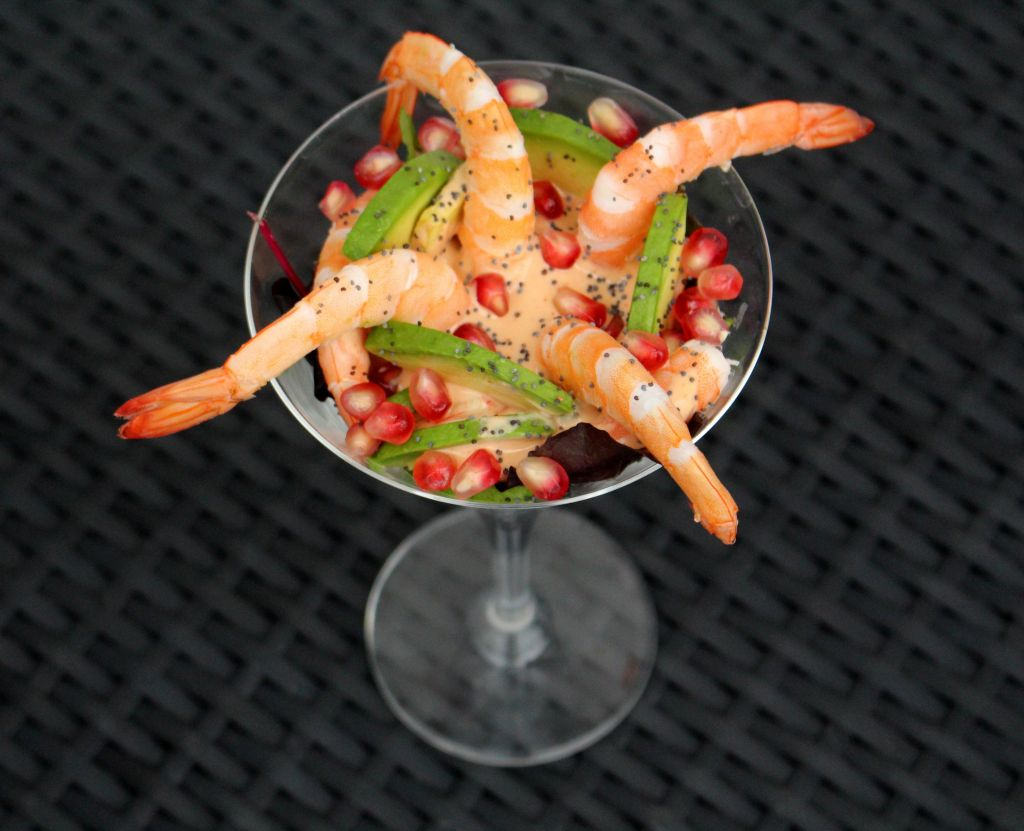 Cocktail de gambas