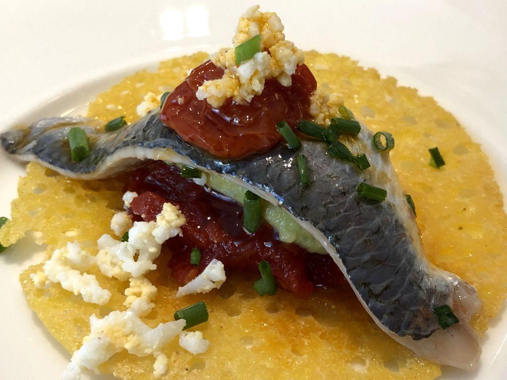sardina marinada